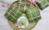 Le bánh chung, plat emblématique du Têt