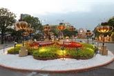 Ouverture de la rue florale Nguyên Huê 2019 à Hô Chi Minh-Ville