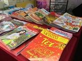 Ouverture de la Rue des livres du printemps de l'Année du Cochon à Hanoï