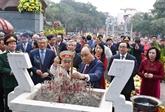 Célébration des 230 ans de la victoire de Ngoc Hôi - Dông Da
