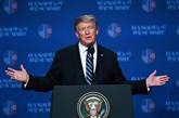 Le président américain espère un accord nucléaire avec la RPDC