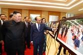 Nguyên Xuân Phuc rencontre Kim Jong Un