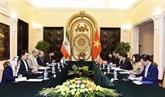 Vietnam et Iran promeuvent des relations de coopération bilatérales