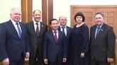 Renforcement de la coopération avec les groupes de députés d'amitié russes
