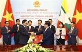 Renforcement de la coopération multiforme Vienam - Myanmar