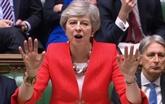 Les députés britanniques rejettent l'accord de Brexit pour la 2e fois