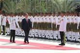 Le président sud-coréen en visite en Malaisie