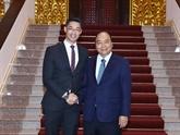 Le Premier ministre Nguyên Xuân Phuc reçoit l'économiste Philipp Rosler
