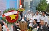 Dà Nang: hommage aux soldats tombés à Gac Ma