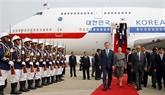 Le président sud-coréen entamme sa visite d'État au Cambodge