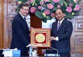 Le Premier ministre vietnamien reçoit des entrepreneurs américains