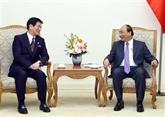 Le chef du gouvernement vietnamien reçoit le gouverneur de la préfecture japonaise de Chiba