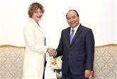 Le Premier ministre vietnamien reçoit l'ambassadrice des Pays-Bas