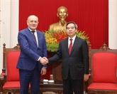 Gazprom salué pour ses contributions aux relations entre le Vietnam et la Russie