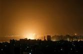Israël pilonne Gaza après des tirs de roquettes vers Tel-Aviv, à un moment à hauts risques