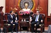 Hô Chi Minh-Ville demande à Samsung d'ouvrir bientôt un centre de recherche