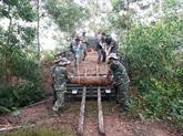 Neutralisation de bombes et de torpilles à Quang Binh et Quang Ngai