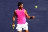 Tennis: Nadal forfait pour sa demi-finale contre Federer à Indian Wells