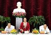 La présidente de l'AN Nguyên Thi Kim Ngân à Binh Thuân