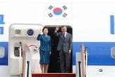 Le président sud-coréen achève sa tournée dans trois pays de l'Asie du Sud-Est