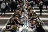 2.000 couverts: pour ses 50 ans, Rungis régale la plus grande tablée du monde