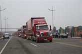Le transport des marchandises autorisé sur le pont Bac Luân II à Quang Ninh