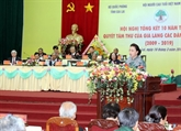 La président de l'AN loue Gia Lai pour ses acquis socioéconomiques