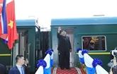 Le président Kim Jong Un termine sa visite au Vietnam par Lang Son