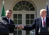 Trump et Bolsonaro se rencontrent à Washington