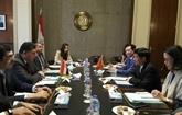 L'Égypte veut développer des relations avec le Vietnam