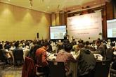 Colloque pour le développement durable du secteur de l'eau