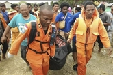 Au moins 107 morts dans les inondations et les glissements de terrain