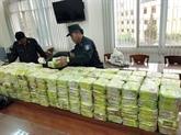 Un énorme trafic de drogues démantelé à Hô Chi Minh-Ville