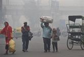 À New Delhi, riches et pauvres inégaux aussi face à la pollution