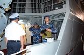La frégate 012-Ly Thai Tô est partie pour la Malaisie et le Myanmar