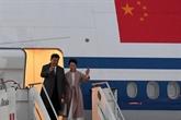 Arrivée du président chinois en Italie pour une visite d'État