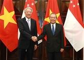 Promotion du partenariat stratégique Vietnam - Singapour