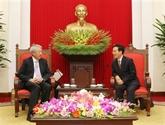 Promotion du partenariat stratégique entre le Vietnam et Singapour