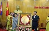 Une délégation de l'AN du Cambodge visite la province de Hà Nam