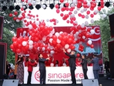 Le festival de Singapour 2019 ouvert au centre-ville de Hanoï
