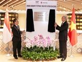 Inauguration du Centre de coopération Vietnam - Singapour à Hanoï
