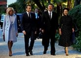 Emmanuel Macron reçoit le président chinois Xi et appelle à un multilatéralisme fort
