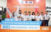 Qualification nationale du Championnat du monde MOS - Viettel 2019