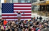 Premier meeting pour la démocrate Kirsten Gillibrand, en retard dans les sondages
