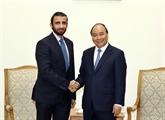 Le PM Nguyên Xuân Phuc reçoit le directeur général du groupe dinvestissement de Dubai
