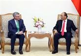 Le Premier ministre Nguyên Xuân Phuc reçoit le PDG de Visa