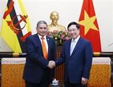 Le Vietnam et le Brunei soulignent l'importance d'une connectivité accrue