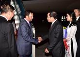 Le sultan du Bruneï entame sa visite d'État au Vietnam