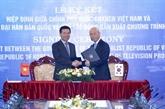 Vietnam et R. de Corée coopèrent dans la production des programmes télévisés