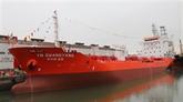 Un pétrolier de 6.500 tonnes livré à un client sud-coréen